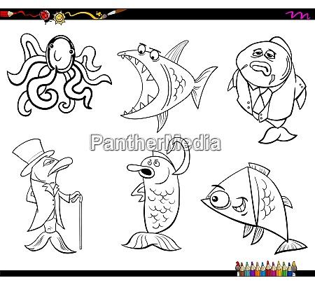 kreskowka morze zycie zwierzeta kolorowanka strona
