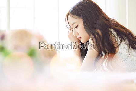 female beauty portrait