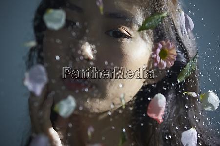 female petal beauty