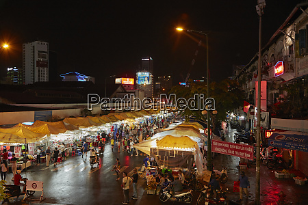 ben thanh night market ho chi