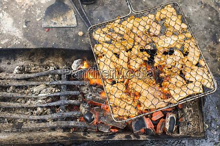vietnam hanoi street food grilled chicken