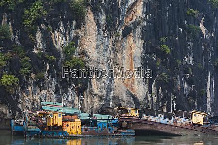 vietnam halong city halong bay shipwrecks