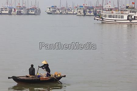 vietnam halong city bai chay port