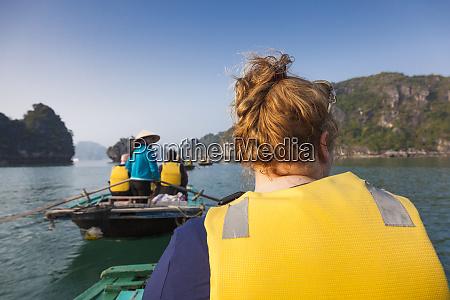 vietnam halong bay floating fishing village