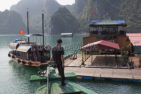 vietnam halong bay floating cultured pearl