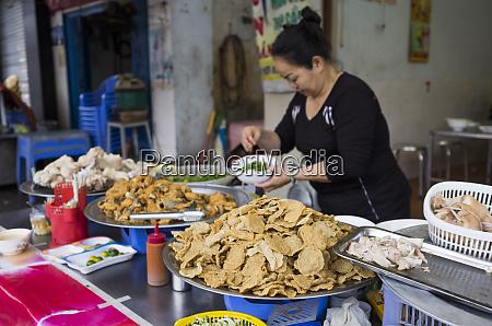 wietnam haiphong street food stoisko z