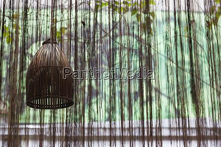 vietnam hanoi cafe interior lamp
