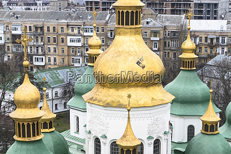 the domes of st sophia cathedral