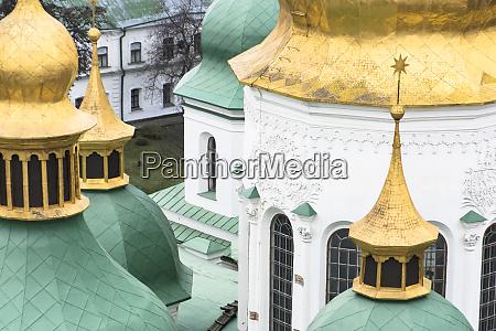 detail of st sophia cathedral kiev
