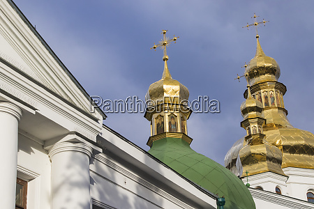 dome detail pechersk lavra monastery of