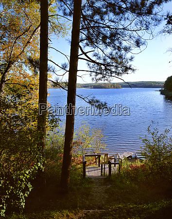 usa minnesota itasca state park lake