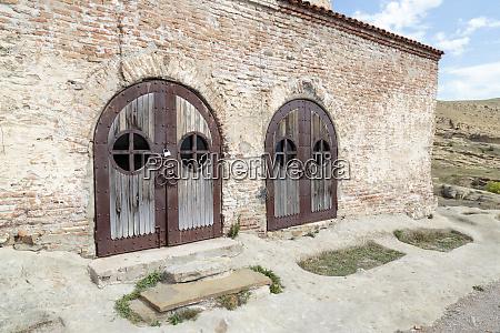 georgia uplistsikhe doors to the uplistsikhe