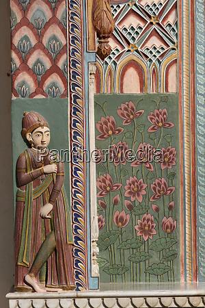 jaipur rajasthan india city palace wood