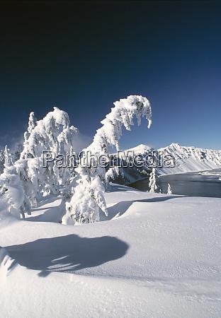stany zjednoczone oregon jezioro kraterowe np