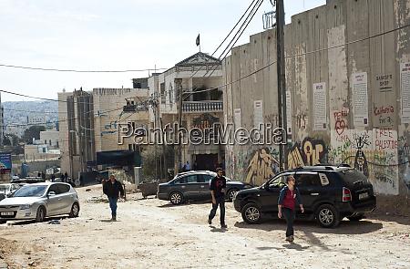 israel west bank bethlehem israeli built