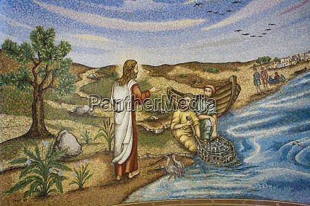 artwork of jesus calling first disciples