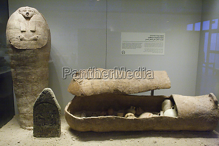 ancient egyptian clay coffins israel national
