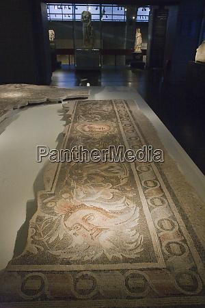 tiled mural israel national museum in