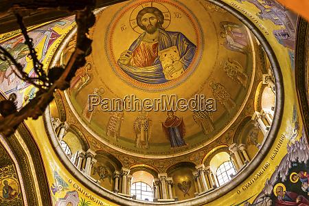 jesus christ saints angels dome crusader