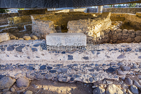 saint peters house ruins byzantine church
