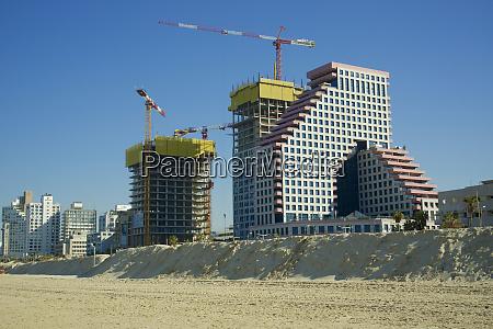 izrael, tel, awiw, budowa, nowych, budynków - 27710352