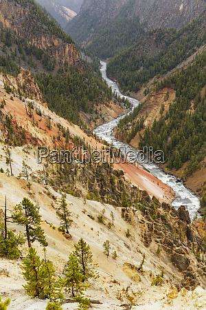 grand canyon of yellowstone yellowstone national