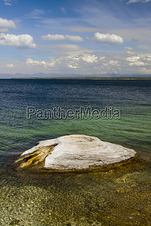 fishing cone yellowstone lake west thumb