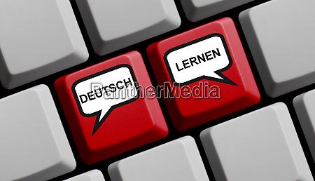 ucz sie niemieckiego w jezyku niemieckim