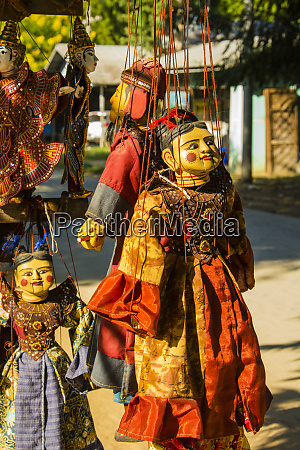 myanmar mandalay mingun puppets for sale