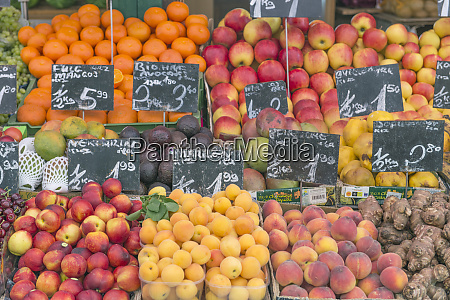 europe austria vienna farmers market fruit