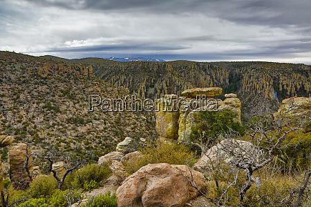 usa arizona chiricahua national monument view