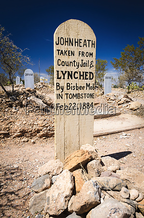 graves at boothill graveyard tombstone arizona