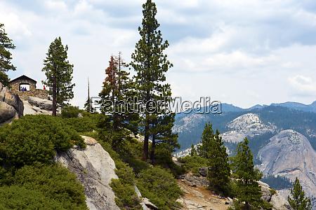 usa kalifornia park narodowy yosemite kamienna