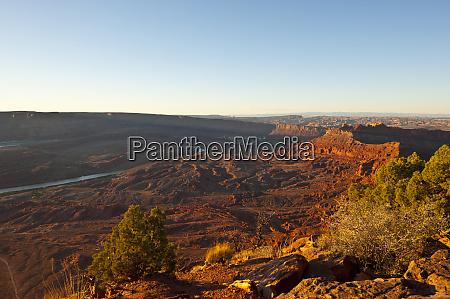 usa utah canyonlands national park anticline