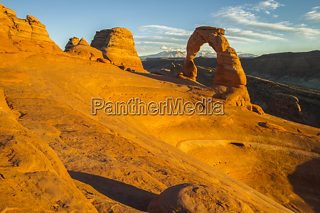 usa utah arches national park landscape