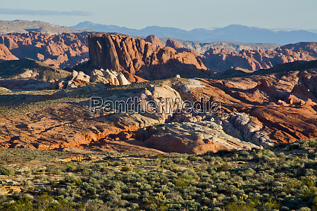 scenic drive valley of fire state