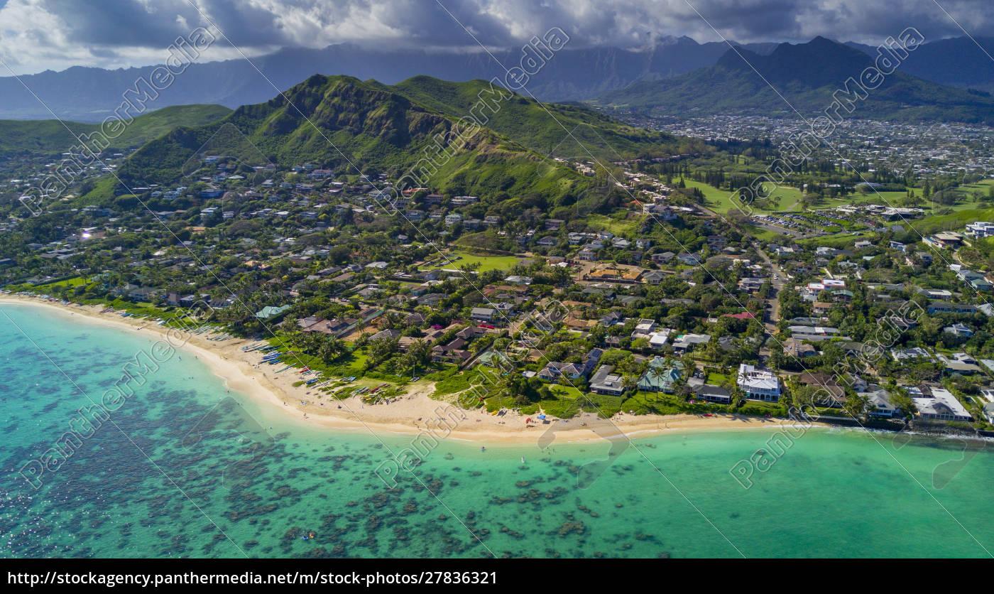 lanikai, beach, , kailua, , oahu, , hawaii - 27836321