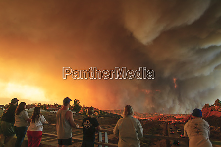 california wildfire val verde fire ventura