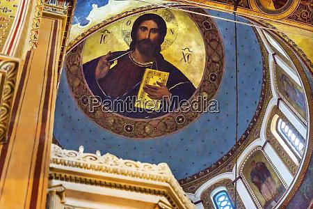 metropolitan basilica christ dome cathedral athens