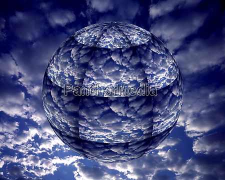 koncepcja klimatu 3d ziemi kredyt jako