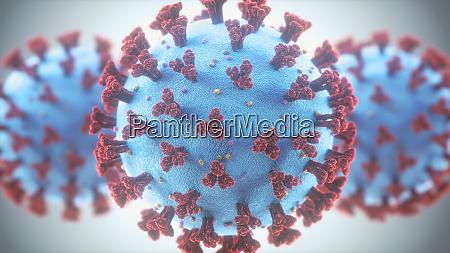 coronavirus, infekcje, dróg, oddechowych, mutacja, wirusów - 28098765