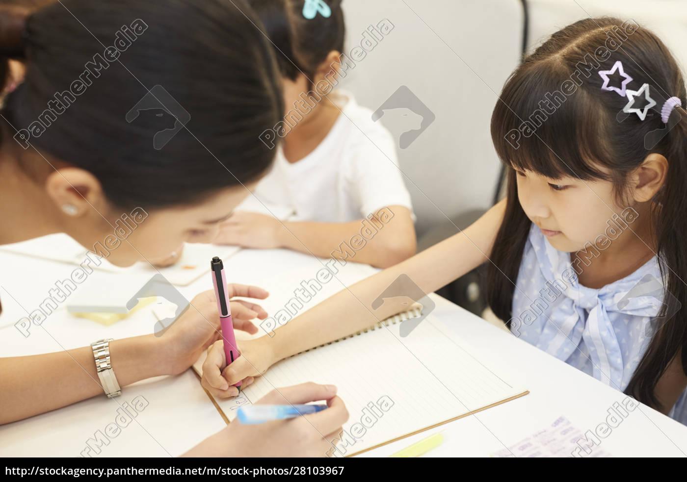 Życie, szkolne, dla, dzieci, w, wieku - 28103967