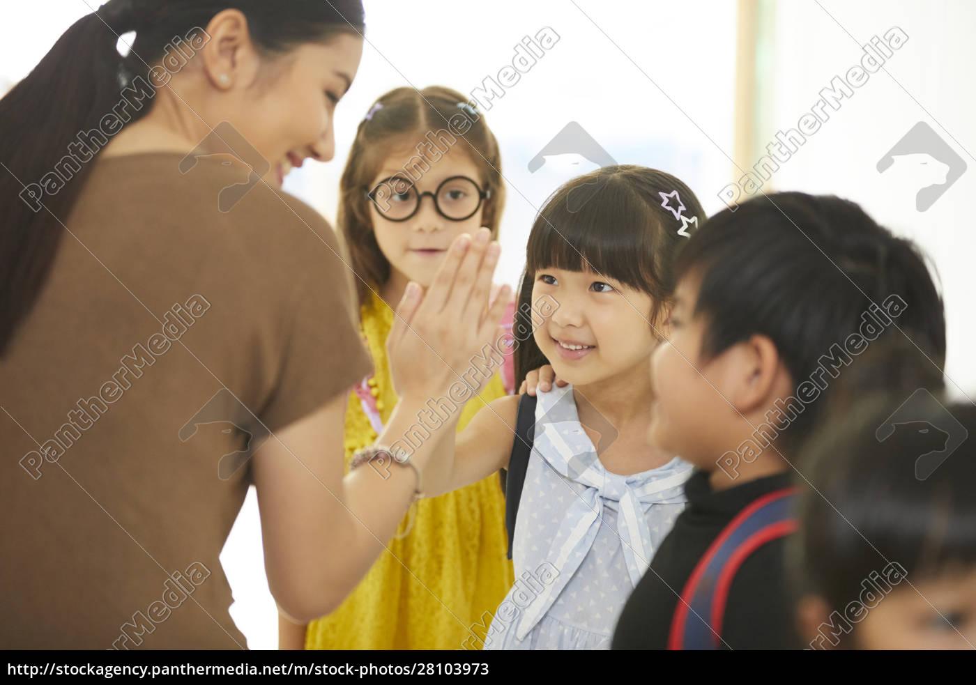 Życie, szkolne, dla, dzieci, w, wieku - 28103973