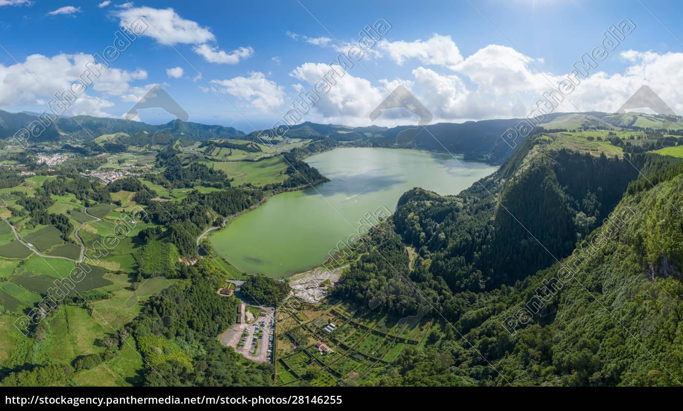 aerial, view, of, azores, , são, miguel - 28146255
