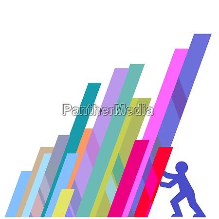 wsparcie ekonomiczne ilustracja wektorowa neutralne