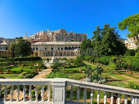 villa del principe and its gardens