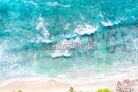 seszele plaza morze woda mahe wyspa