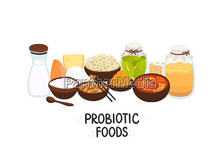 wektor probiotyczne zywnosci najlepsze zrodla probiotyki