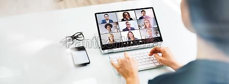 rozmowa kwalifikacyjna z wideokonferencja wideo online