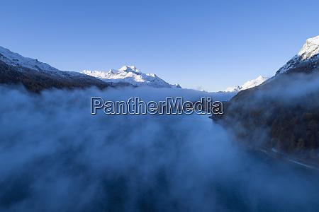 szwajcaria kanton grisons saint moritz widok